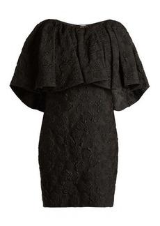 CALVIN KLEIN 205W39NYC Floral-jacquard silk dress