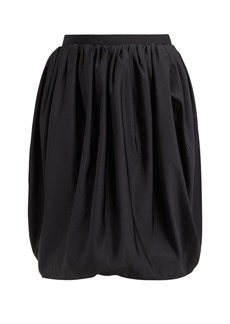 CALVIN KLEIN 205W39NYC Gathered high-rise bubble-hem skirt