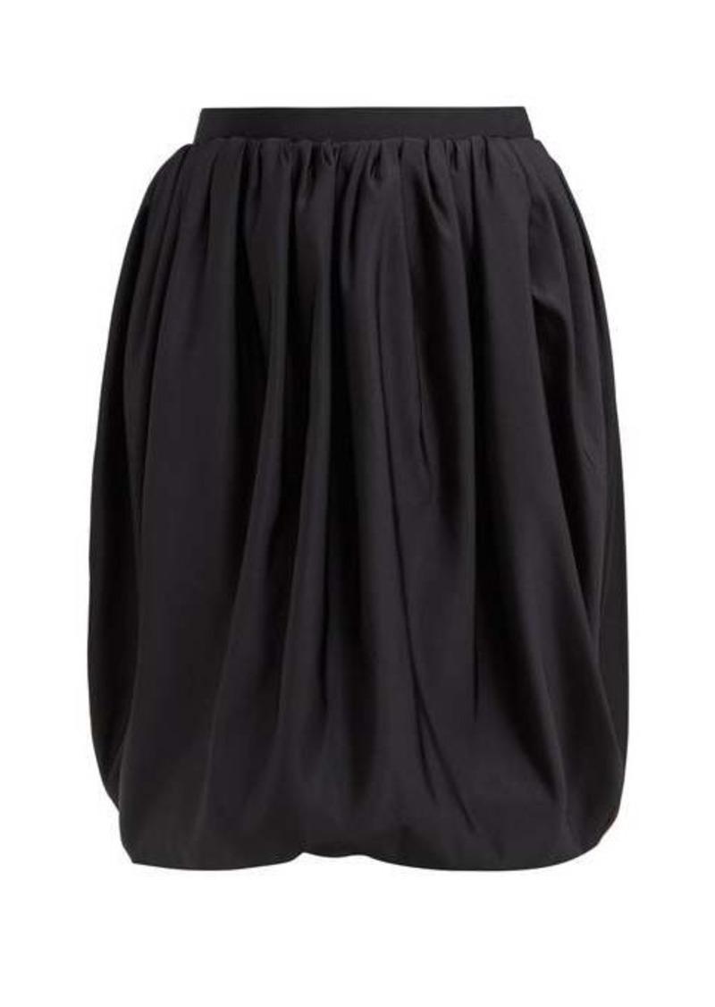 Calvin Klein Gathered high-rise bubble-hem skirt