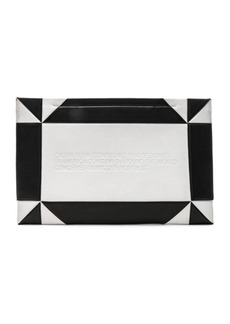CALVIN KLEIN 205W39NYC Geometric Quilted Clutch