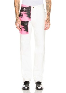 CALVIN KLEIN 205W39NYC High Rise Straight Pant