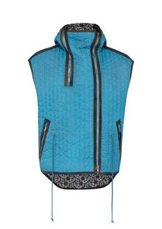 CALVIN KLEIN 205W39NYC Hooded quilted gilet