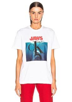 CALVIN KLEIN 205W39NYC Jaws Tee Shirt