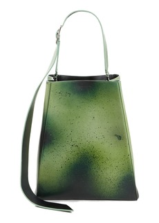 Calvin Klein 205W39NYC Large Distressed Leather Bucket Bag