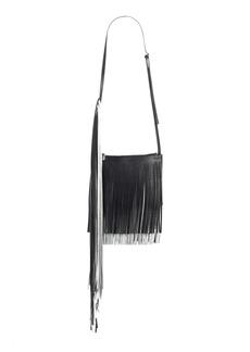 Calvin Klein 205W39NYC x Layered Fringe Leather Crossbody Bag
