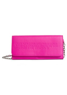 CALVIN KLEIN 205W39NYC Leather Wallet on a Chain