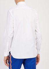 CALVIN KLEIN 205W39NYC Logo-embroidered cotton-poplin shirt
