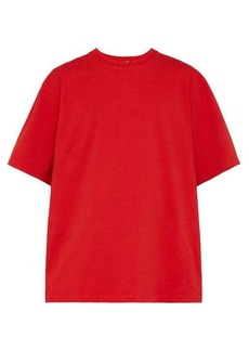 CALVIN KLEIN 205W39NYC Logo-embroidered oversized cotton T-shirt