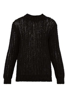 Calvin Klein Loose-knit cotton sweater