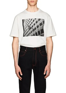 "CALVIN KLEIN 205W39NYC Men's ""American Flag"" Cotton T-Shirt"