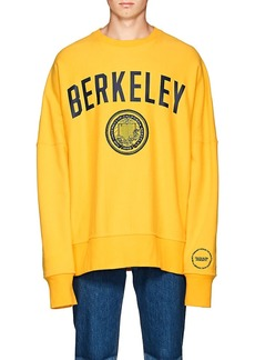 CALVIN KLEIN 205W39NYC Men's Berkeley-Print Cotton Oversized Sweatshirt