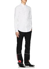CALVIN KLEIN 205W39NYC Men's Embroidered Cotton Poplin Shirt