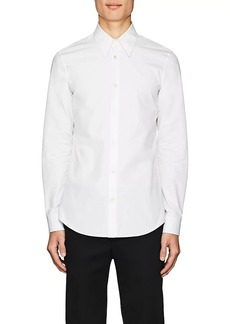 CALVIN KLEIN 205W39NYC Men's Embroidered Cotton Poplin Shirt