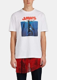"CALVIN KLEIN 205W39NYC Men's ""Jaws"" Logo Graphic Cotton T-Shirt"