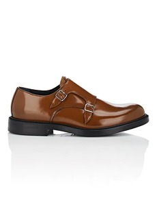 CALVIN KLEIN 205W39NYC Men's Leather Double-Monk-Strap Shoes