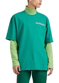 CALVIN KLEIN 205W39NYC Men's Logo Cotton Crewneck T-Shirt