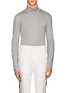 CALVIN KLEIN 205W39NYC Men's Logo Cotton Turtleneck T-Shirt