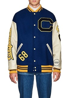 CALVIN KLEIN 205W39NYC Men's Oversized Wool Varsity Jacket