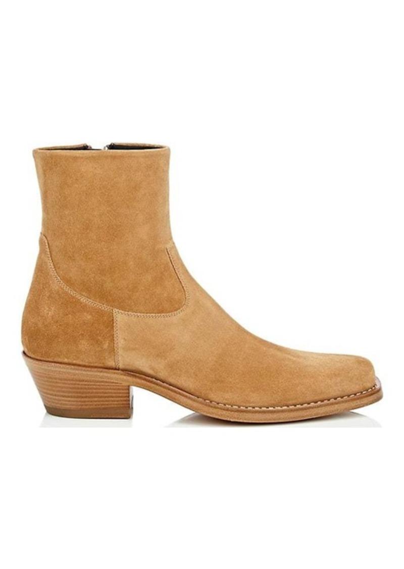 5040ef404fd2 Calvin Klein CALVIN KLEIN 205W39NYC Men's Square-Toe Suede Boots | Shoes