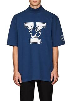CALVIN KLEIN 205W39NYC Men's Yale-Print Cotton T-Shirt