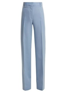 CALVIN KLEIN 205W39NYC Mid-rise wool-gabardine trousers