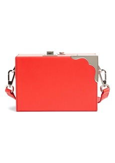 CALVIN KLEIN 205W39NYC Mini Calfskin Box Shoulder Bag