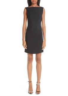 CALVIN KLEIN 205W39NYC Open Back Cady Dress