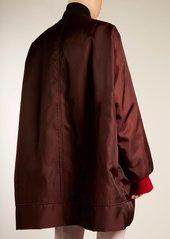 CALVIN KLEIN 205W39NYC Oversized logo-embroidered twill bomber jacket