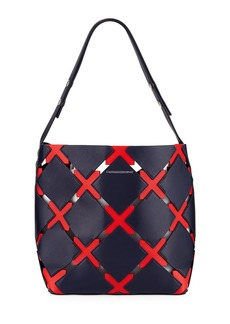 CALVIN KLEIN 205W39NYC Quilted Puzzle Bucket Bag