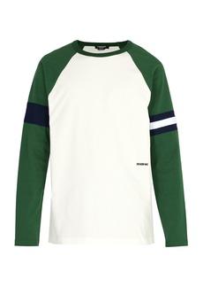 CALVIN KLEIN 205W39NYC Raglan-sleeve cotton-jersey T-shirt