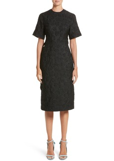 Calvin Klein 205W39NYC Rose Jacquard Dress