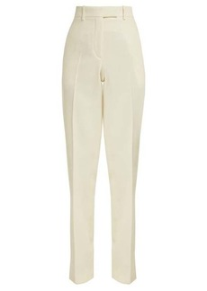 CALVIN KLEIN 205W39NYC Side-striped wool trousers