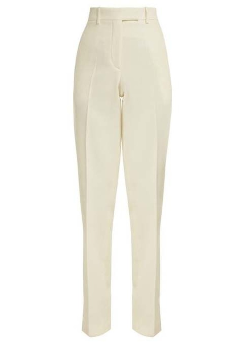 Calvin Klein Side-striped wool trousers