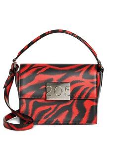 a808cea30e CALVIN KLEIN 205W39NYC Small Bonnie Top Handle Calfskin Shoulder Bag