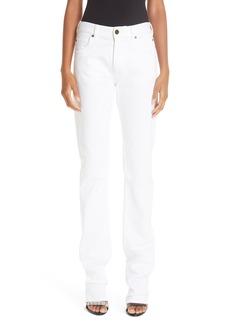CALVIN KLEIN 205W39NYC Straight Leg Jeans (Optic White)