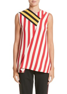 Calvin Klein 205W39NYC Stripe Top