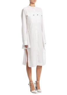 Calvin Klein Striped Shirt Dress