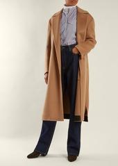 CALVIN KLEIN 205W39NYC Striped stand-collar cotton shirt