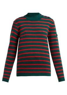 CALVIN KLEIN 205W39NYC Striped wool sweater