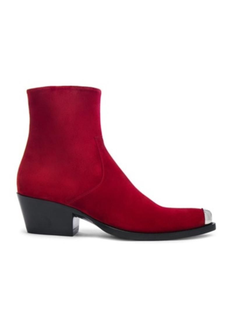 84bdf68db073 On Sale today! Calvin Klein CALVIN KLEIN 205W39NYC Suede Tex Chiara ...
