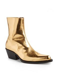 Calvin Klein 205W39NYC Tex Tarrana Metallic Bootie (Women)