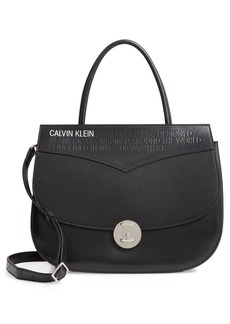 Calvin Klein 205W39NYC Top Handle Round Lock Shoulder Bag