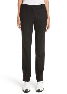 CALVIN KLEIN 205W39NYC Velvet Stripe Stretch Wool Pants