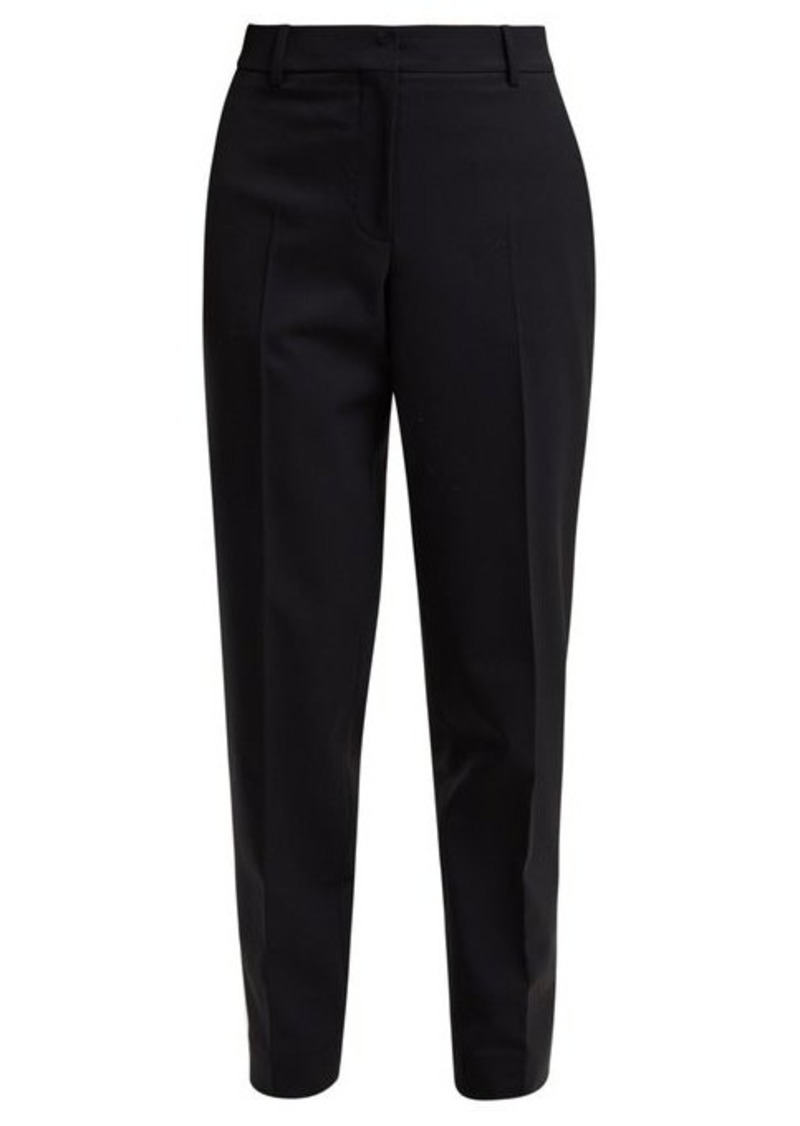 Calvin Klein Wall Street tapered gabardine trousers