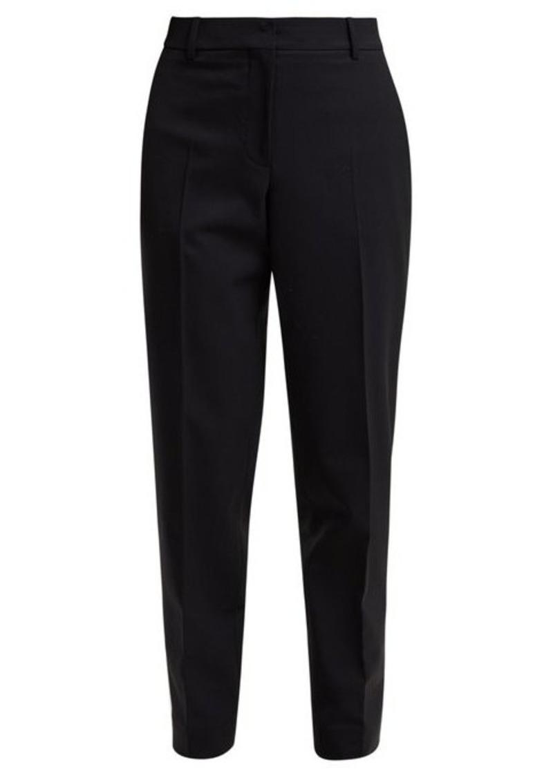 Calvin Klein Wall Street tapered gabardine trousers