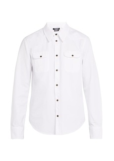CALVIN KLEIN 205W39NYC Western cotton shirt