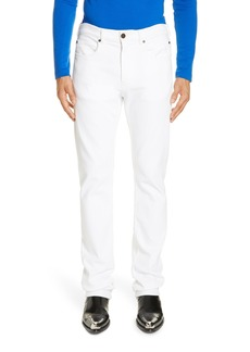 CALVIN KLEIN 205W39NYC White Denim Pants