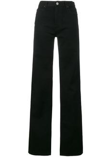 Calvin Klein 205W39nyc wide leg high-rise jeans - Black
