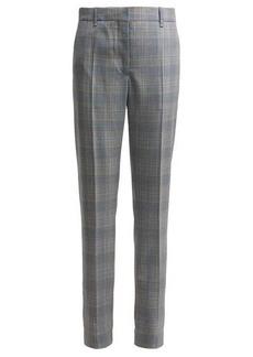 CALVIN KLEIN 205W39NYC Windowpane straight-leg wool trousers