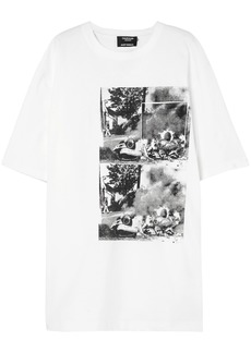 Calvin Klein 205w39nyc Woman + Andy Warhol Foundation Oversized Printed Cotton T-shirt White